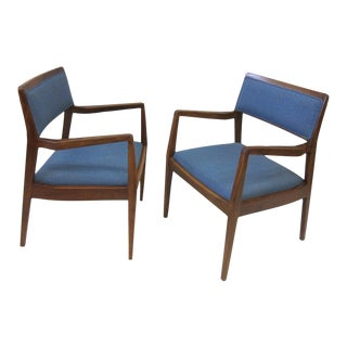 Pair Jens Risom Playboy chairs For Sale