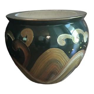 1980s Vintage Ceramic Planter For Sale