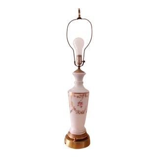 Vintage Leviton Victorian Porcelain Table Lamp