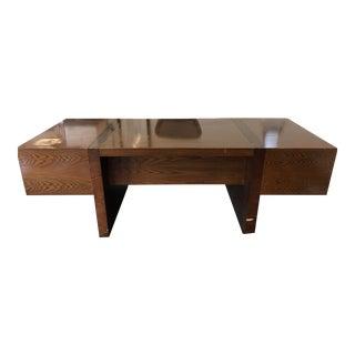 Roger Sprunger for Dunbar Mid Century Executive Desk For Sale
