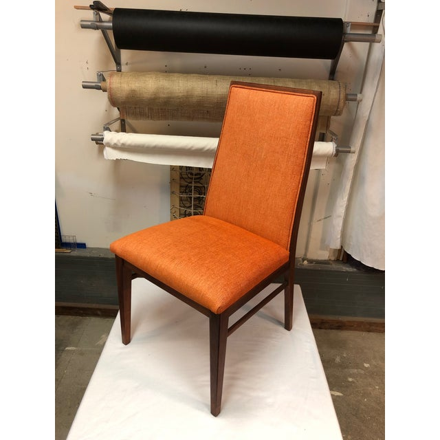 1970s 1970s Vintage Milo Baughman for Dillingham Walnut Side Chair For Sale - Image 5 of 6