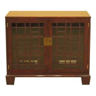 Henkel Harris 1274 Mahogany Modern 2 Door Cabinet