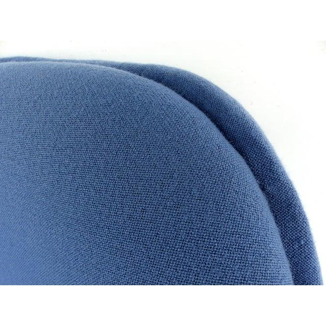 Blue Mid-Century Modern Geoffrey Harcourt Chair & Ottoman For Sale - Image 8 of 11