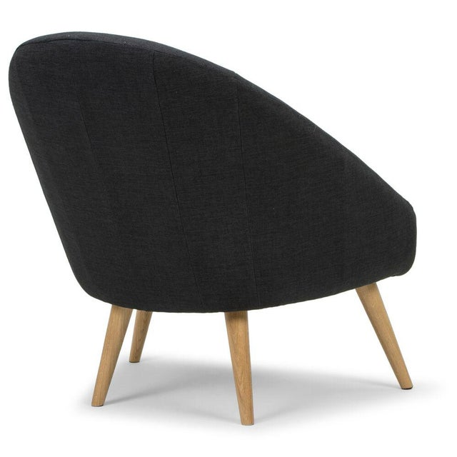 Sarreid LTD Black 'Billionaire' Chair - Image 5 of 6