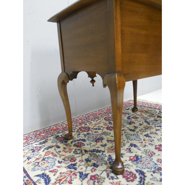 Century Furniture Henry Ford Museum Mahogany Chippendale Style Low Boy Chest For Sale - Image 10 of 11