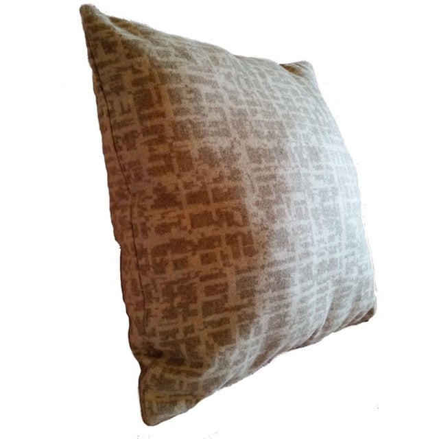 "Offered is (1) 16"" X 16"" knife edge pillow cover complete with an invisible zipper closure. Dapper is an 80% worsted wool,..."