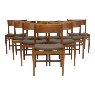 Set of 8 Arne Vodder Dining Chairs For Sale
