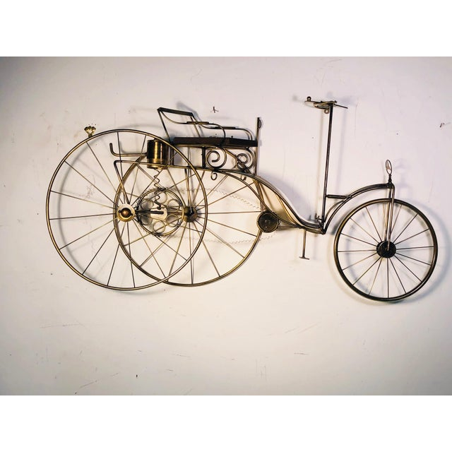 Large Scale Curtis Jere Bicycle Wall Sculpture For Sale - Image 10 of 10