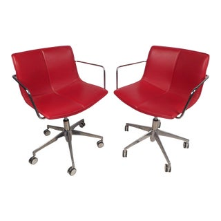 Contemporary Modern Adjustable Swivel Chairs For Sale