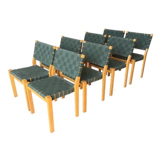 Alvar Aalto Dining Chairs - Set of 8 For Sale