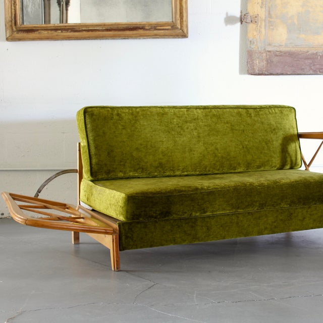 Mid-Century Modern Paolo Buffa Day Bed For Sale - Image 3 of 7