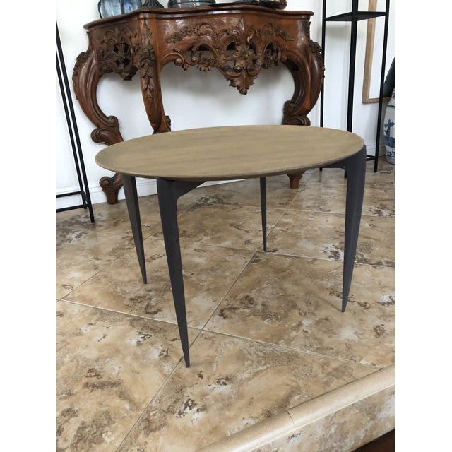 Contemporary Contemporary Arteriors Foldable Side/Tray Table For Sale - Image 3 of 7