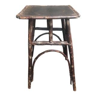 20th Century Rustic American Adirondack Twig Table