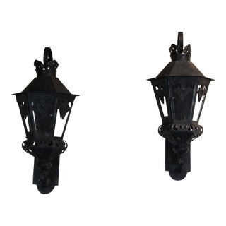 Pair of Wall Fixtures For Sale