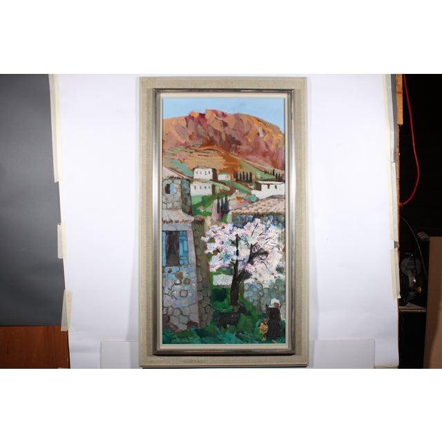 "Bertil Wahlberg ""Sorrento"" Oil Painting - Image 2 of 4"
