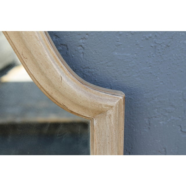 Traditional Off White Carved Wall Mirrors - A Pair - Image 5 of 9