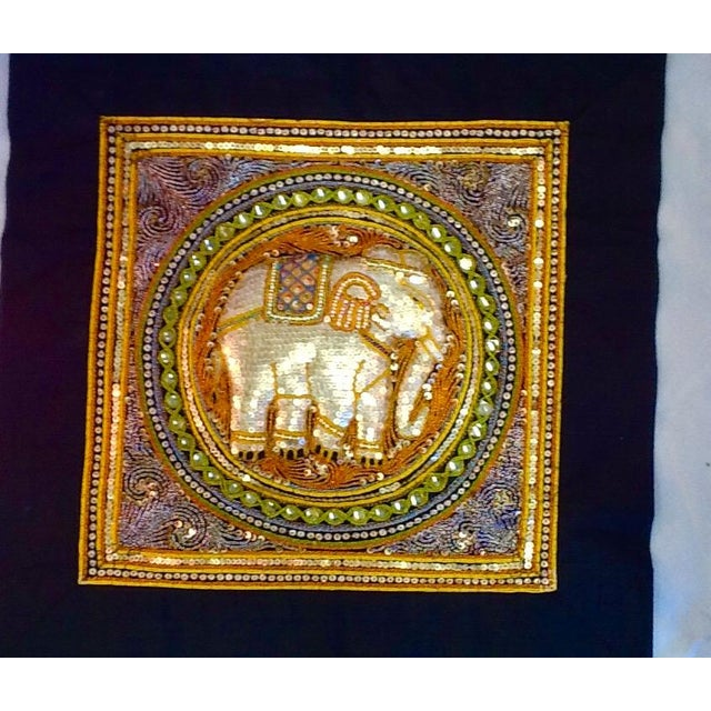 Vintage Elephant Tab Top Wall Hanging - Image 3 of 7