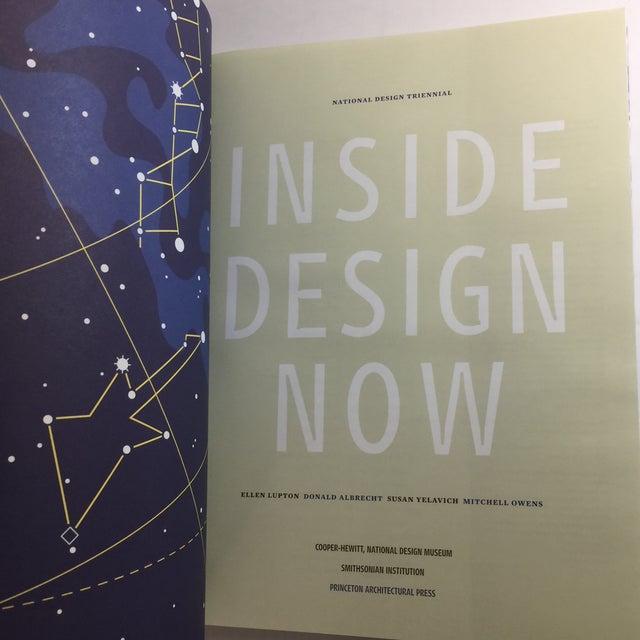 2000 - 2009 2003 Inside Design Now Book by Donald Albrecht Cooper Hewitt For Sale - Image 5 of 13