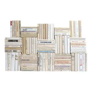 Retro Neutral Book Wall, S/100