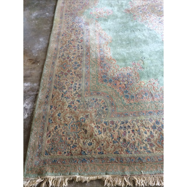 Traditional Iranian Handmade Wool Rug - 14′ × 10′ - Image 3 of 11