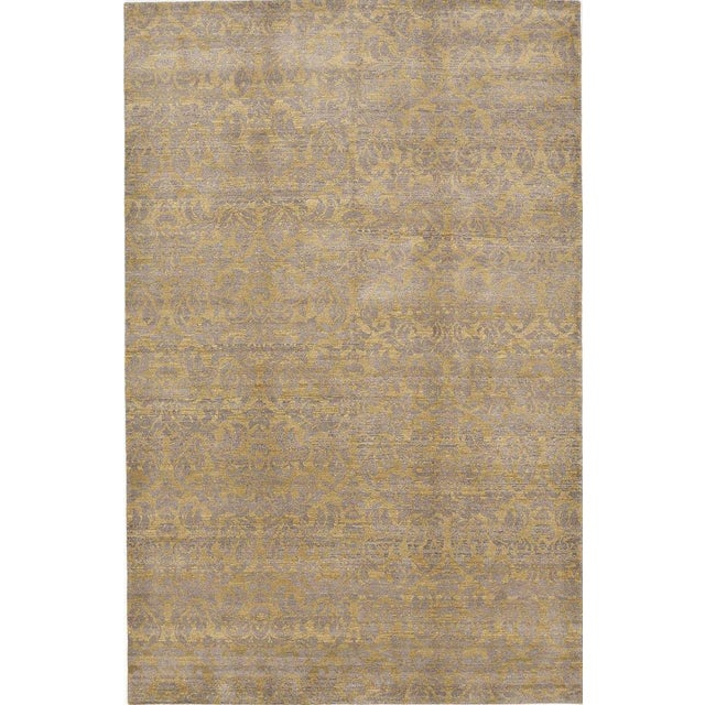 """Hand-Knotted Contemporary Rug - 6'x 9'5"""" - Image 1 of 10"""