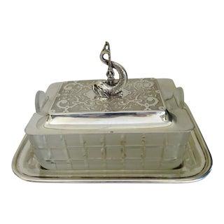 Antique Silver Sardine Box
