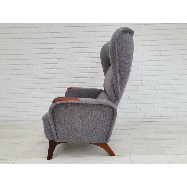 1970s Vintage Danish Lounge Chair For Sale - Image 12 of 13
