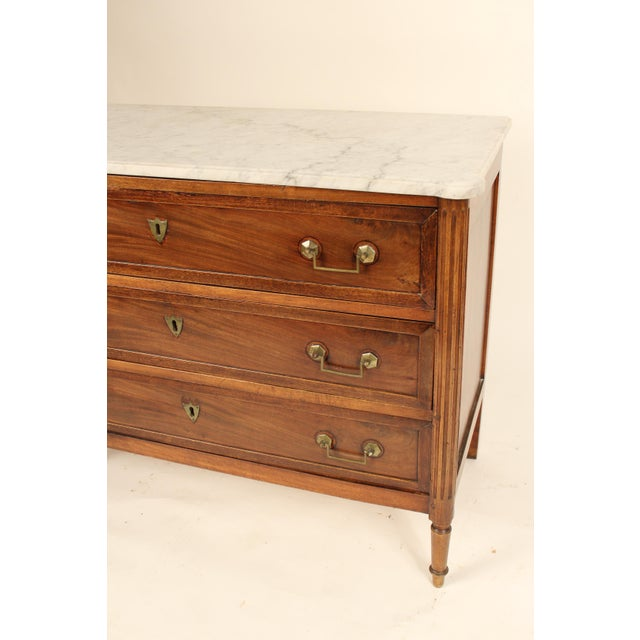 19th Century Louis XVI Style Chest of Drawers For Sale In Los Angeles - Image 6 of 13