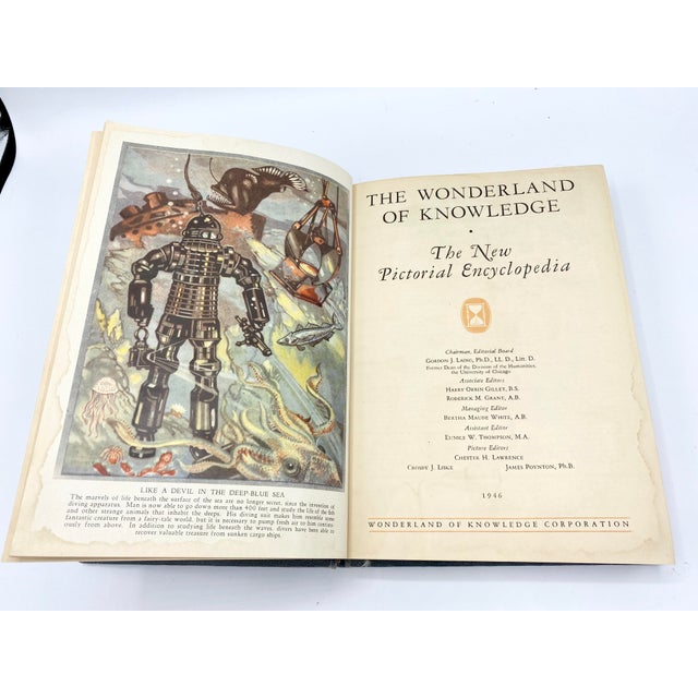 C.1946 the Wonderland of Knowledge Book For Sale In Houston - Image 6 of 8