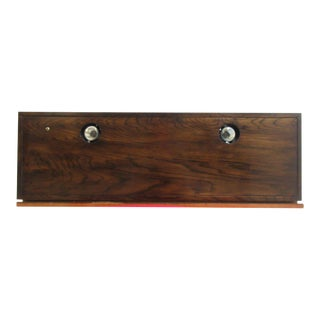 Henredon Oak Scene One Campaign Light Bridge Canopy For Sale