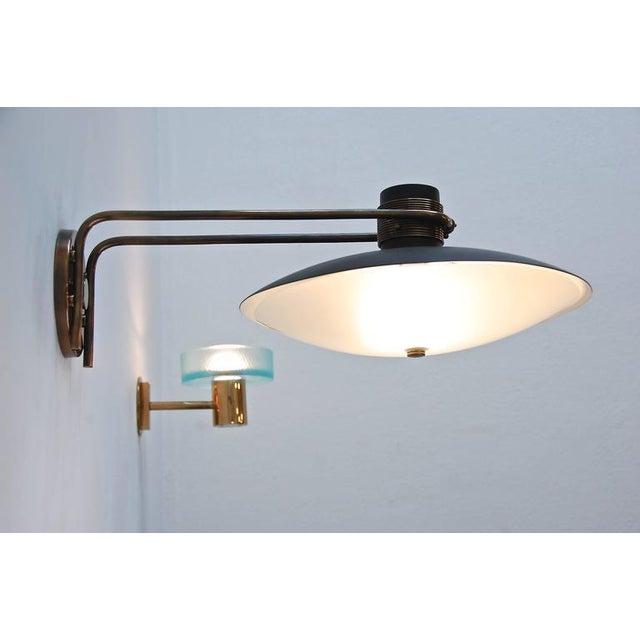 1950s Italian Studio Wall Lamp For Sale - Image 5 of 10