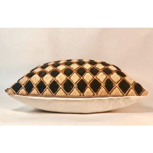 Tribal Vintage African Mudcloth Pillow For Sale - Image 3 of 5