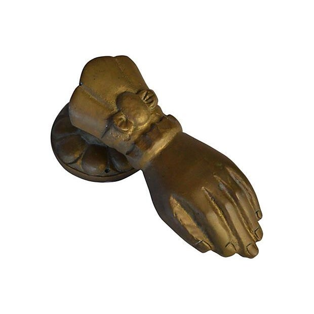 Brass Door Knocker - Image 1 of 3