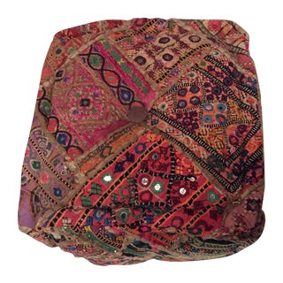 Vintage Meher Boho Chic Pillow
