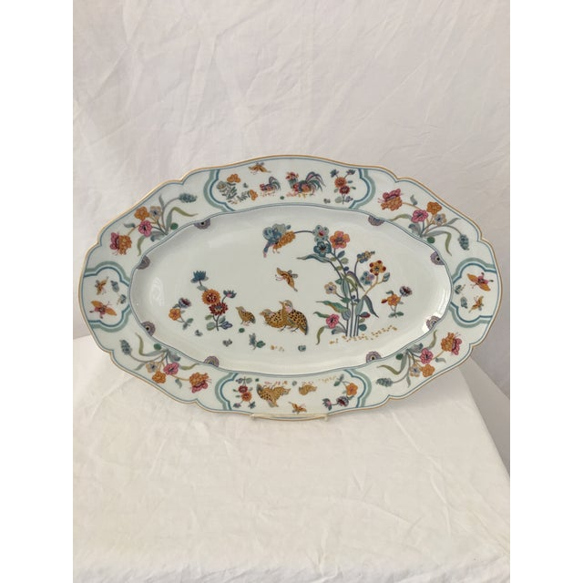 "Up for your consideration today is this fabulous Haviland Limoge ""Golden Quail "" platter measuring 18.5"" wide . What could..."