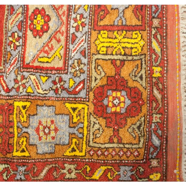 """Islamic Early 20th Century Turkish Prayer Rug - 48"""" x 64"""" For Sale - Image 3 of 4"""