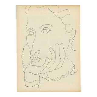 """Divagations"" - Henri Matisse. From ""Verve, Vol. 1"" (1937) For Sale"