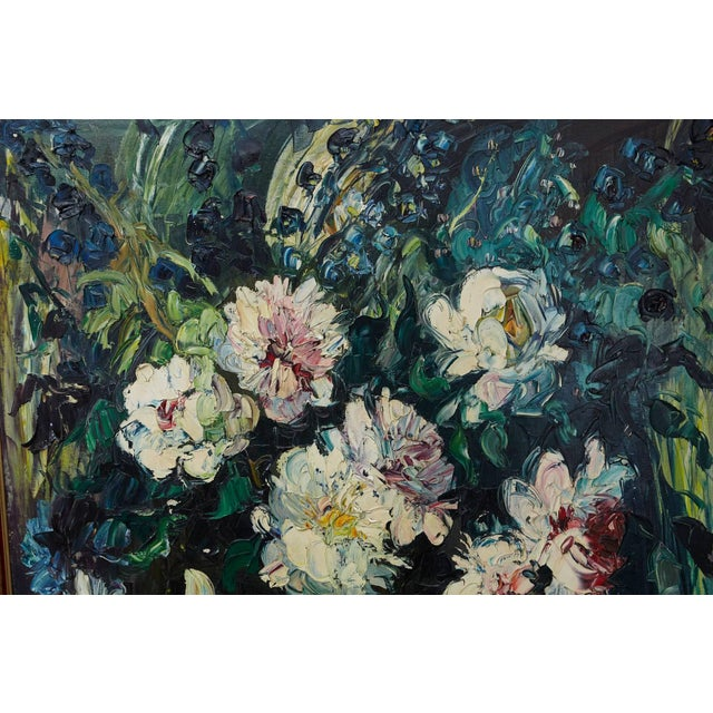 Black Emeric Vagh-Weinmann, Peonies, 1964 For Sale - Image 8 of 11