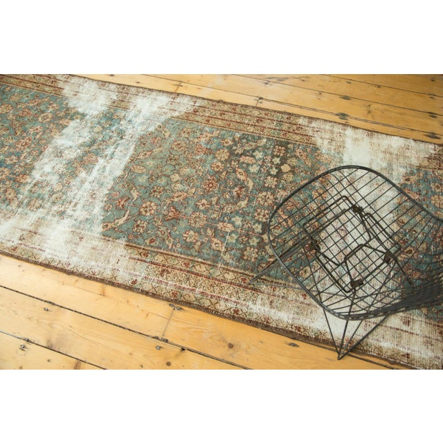 """Antique Malayer Rug Runner - 3'6"""" x 13'3"""" - Image 2 of 10"""