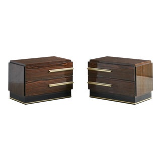 Nightstands by Luciano Frigerio For Sale