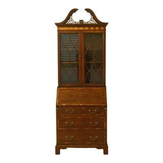 Vintage Baker Furniture English Secretary For Sale