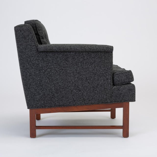 Pair of Petite Lounge Chairs by Edward Wormley for Dunbar For Sale - Image 9 of 13
