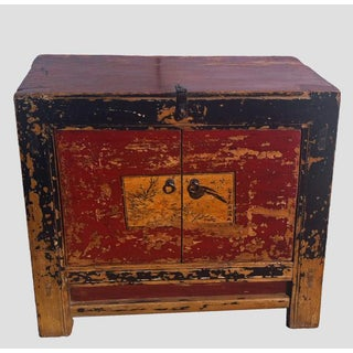 Antique Painted Mongolian Cabinet Preview