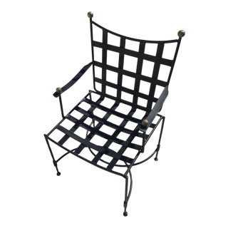 Salterini by Maurizio Tempestini Wrought Iron Chair For Sale