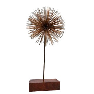 Midcentury Harry Bertoia Style Dandilon Sculpture For Sale