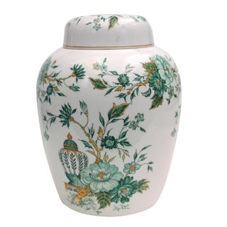 "Crown Staffordshire ""Kowloon"" Ginger Jar"