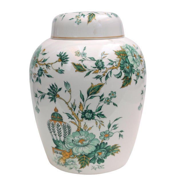"""Crown Staffordshire """"Kowloon"""" Ginger Jar For Sale"""