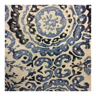 Duralee Medallion Tile Fabric For Sale