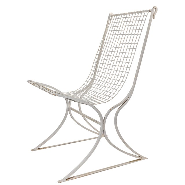 Salterini Mid-Century Modern White Metal Chairs - Set of 4 For Sale - Image 11 of 13