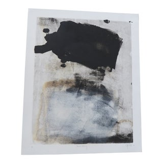 Original Abstract Printmaking on Fine Art Paper #1 of 1 Signed by Artist For Sale